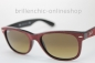 "Preview: Ray Ban NEW WAYFARER RB 2132 6240/85 ALCANTARA ""NEU"""