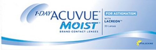 ACUVUE MOIST FOR ASTIGMATISM B.C 8.5