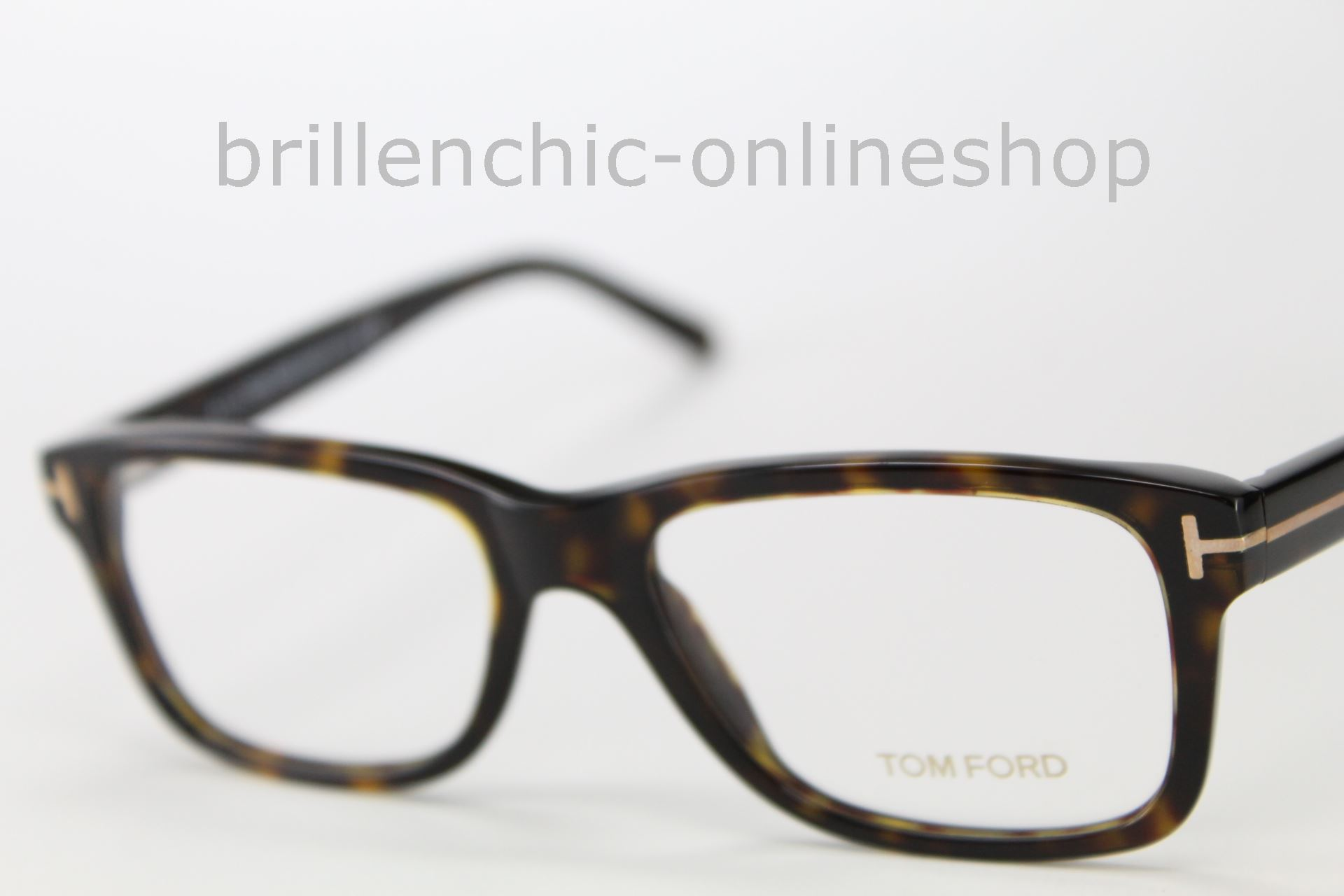 Original Tom Ford Brille Brillenfassung TF 5163 Farbe 052 braun ...