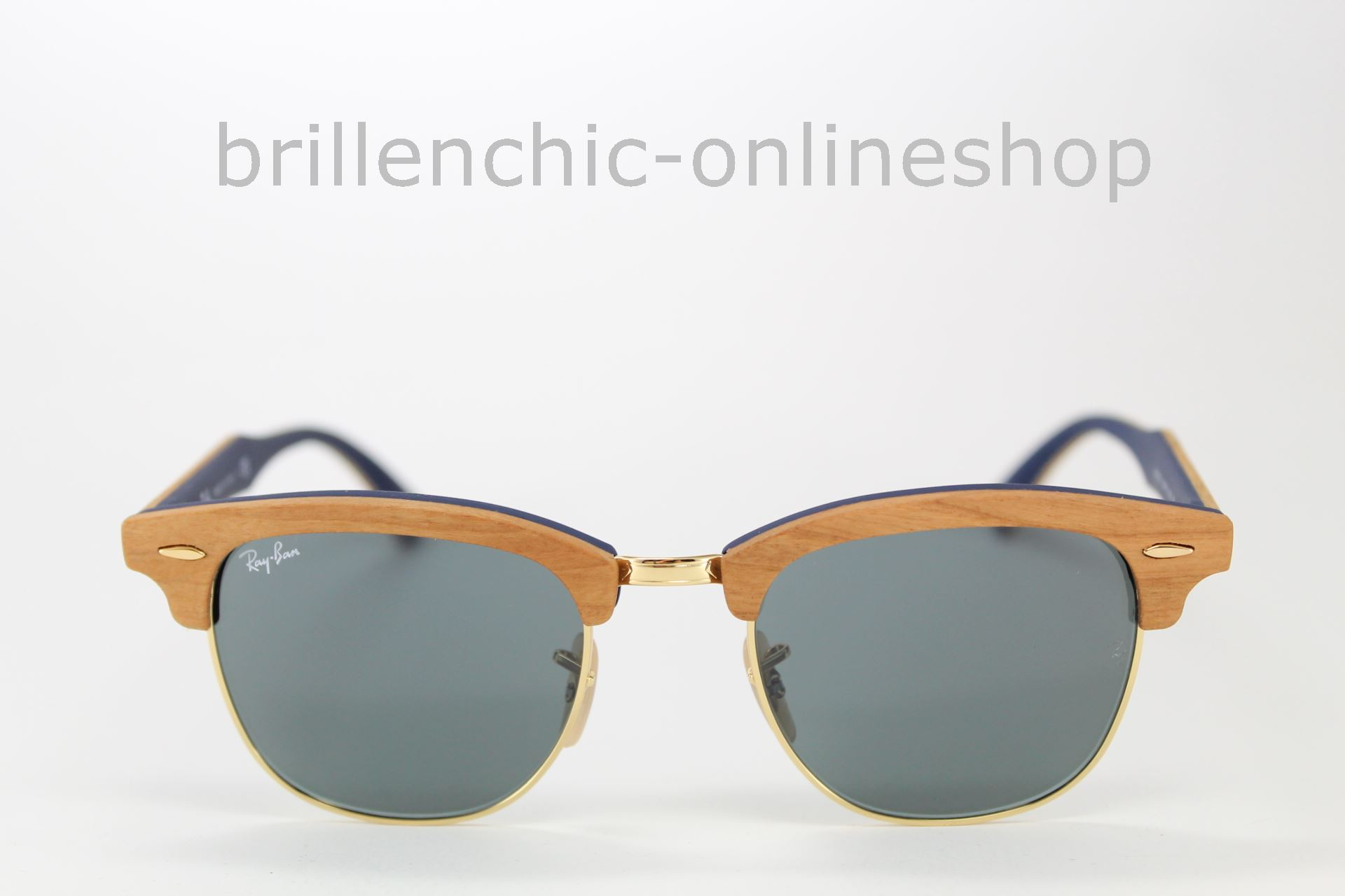 9e501be57344f ... low cost ray ban clubmaster wood rb 3016m 3016 1180 r5 7047f 79593