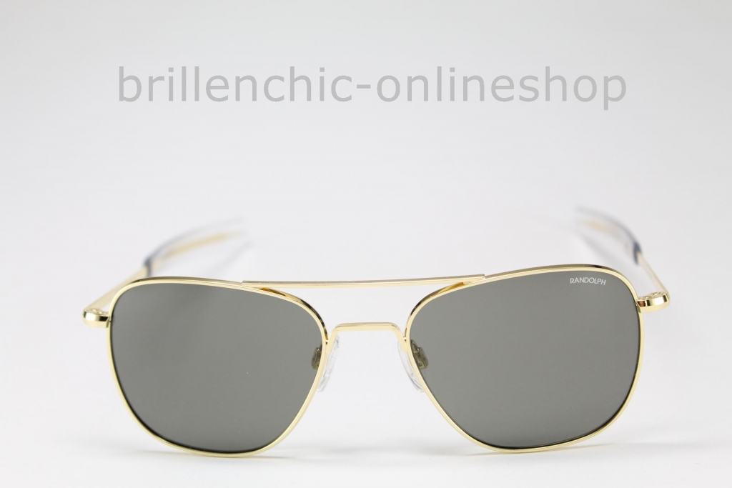 "RANDOLPH AVIATOR gold/ gray ""NEU"""