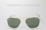 "RANDOLPH AVIATOR gold/ AGX green ""NEU"""